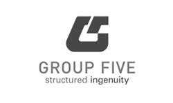 Group Five Logo grey