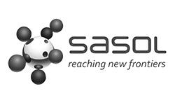 SASOL Logo grey